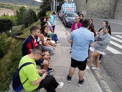 Recepción de los voluntarios internacionales