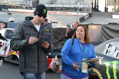 Food City 500 NASCAR Sprint Cup - Bristol Spring 2013 by Roger Holtsclaw
