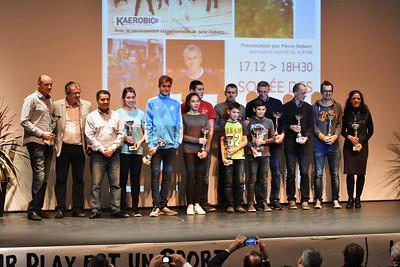 Trophée et mérite sportifs 2015 de la Ville de Huy
