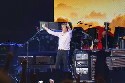 Paul McCartney at Fenway July 2016