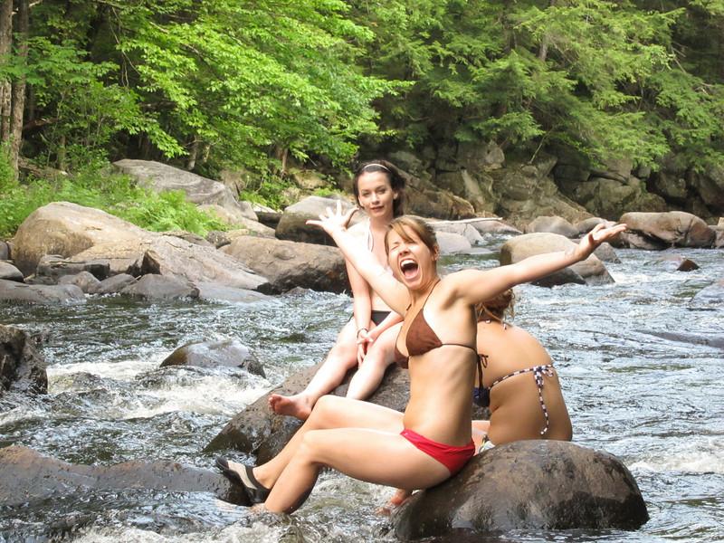 Fun on the rocks.