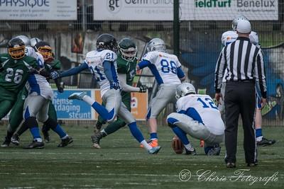 Arnhem Falcons vs Combi Spijkenisse/Rotterdam