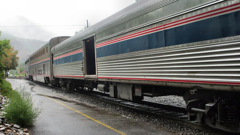 Glenwood Springs, CO, and Amtrak's California Zdphyr