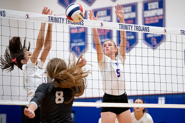 2019-09-17 TCA-Addison - Argyle LCS Varsity Volleyball