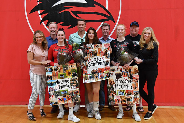 CCA Senior Night, 10-16-19