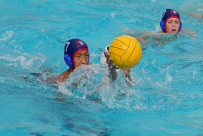 Ventura League - Santa Barbara Water Polo Club 12U Boys vs Malibu 11/1/08. Final score 8 to 7 in Sudden Victory Overtime. SBWPC. Photos by Allen Lorentzen