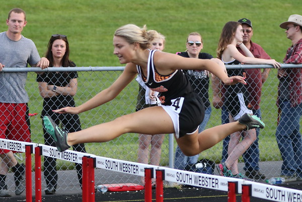 10b3 Track:  SOC Meet, Day 2, 2017:  300 Hurdles, 800m, 200m