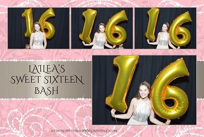 Lailea's Sweet 16 Bash