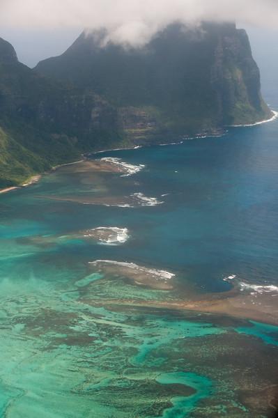 Seascape in Lord Howe Island, Australia