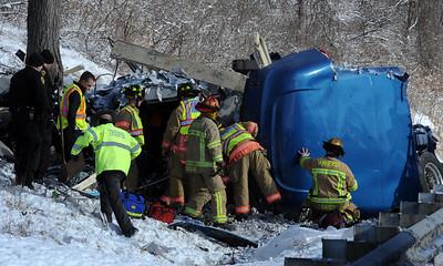 Turnpike Crash Jan. 13, 2015