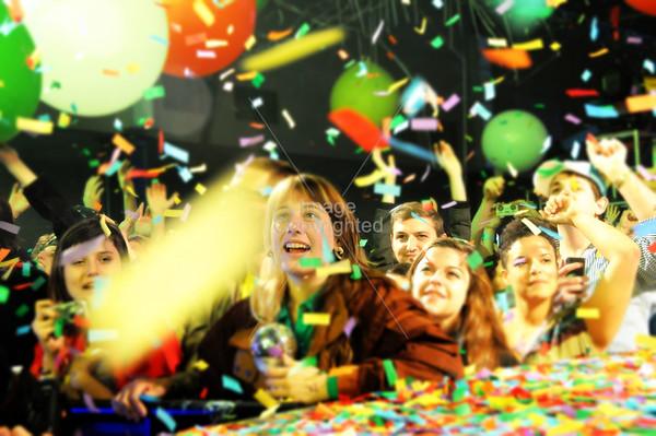 The Flaming Lips, New Years Freakout 5. Night 2. Jan1,2012. Oklahoma City, Oklahoma.