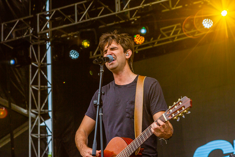 Blake Hanley of Ghost Lion performing at SunFest, May 2, 2019. [JOSEPH FORZANO]