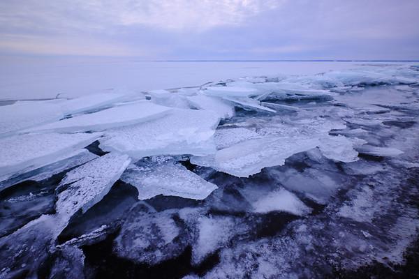 Lake Superior Ice Plates—January 2020