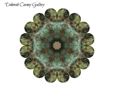 Chrysocolla Crystal Mandalas
