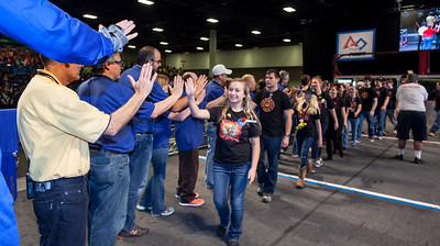 Day 3 - Award Teams - High Fives with Judges