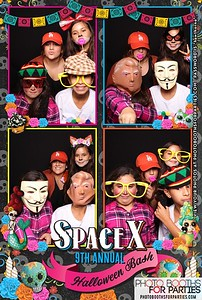 Space X 9th Annual Halloween Party Booth 2