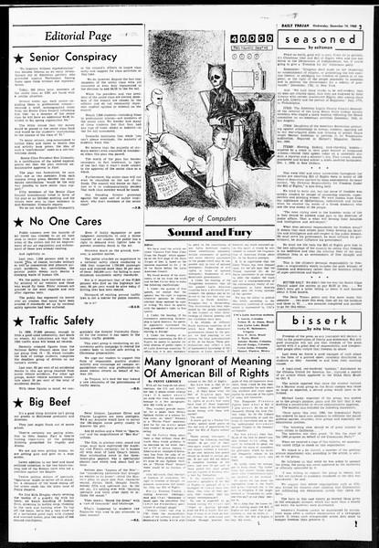 Daily Trojan, Vol. 52, No. 59, December 14, 1960