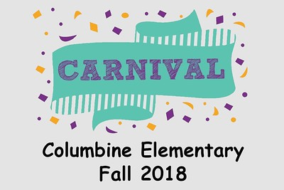 Columbine Elementary Fall Carnival - October 19, 2018