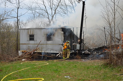 04-16-13 West Lafayette FD House Fire