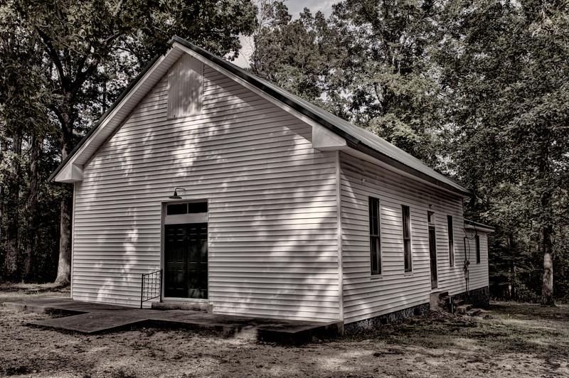 Macedonia Missionary Baptist Church - Jacinto, AR ca. 1871