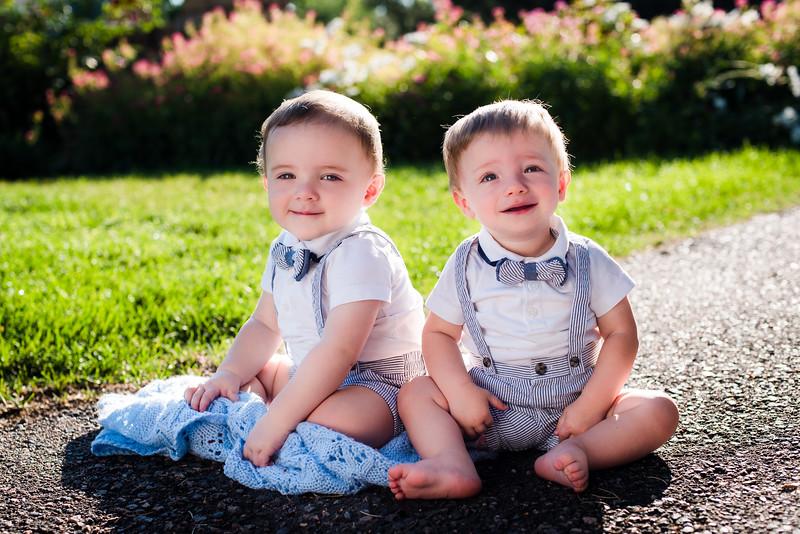 Isaac & Benjamin - 1 year