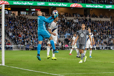 MN United vs LA Galaxy 10.20.19 (First ever MLS playoff game)