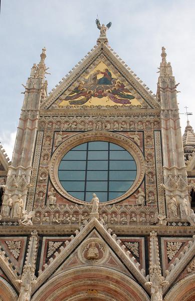 Siena, Italy Duomo (Facade detail)
