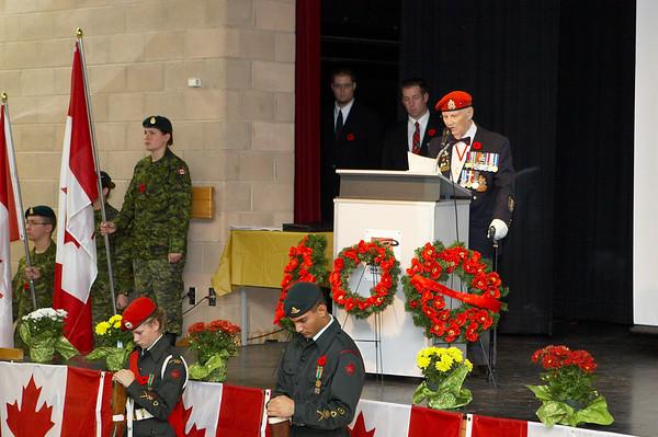 Rememberance Day 2006 at RHSS