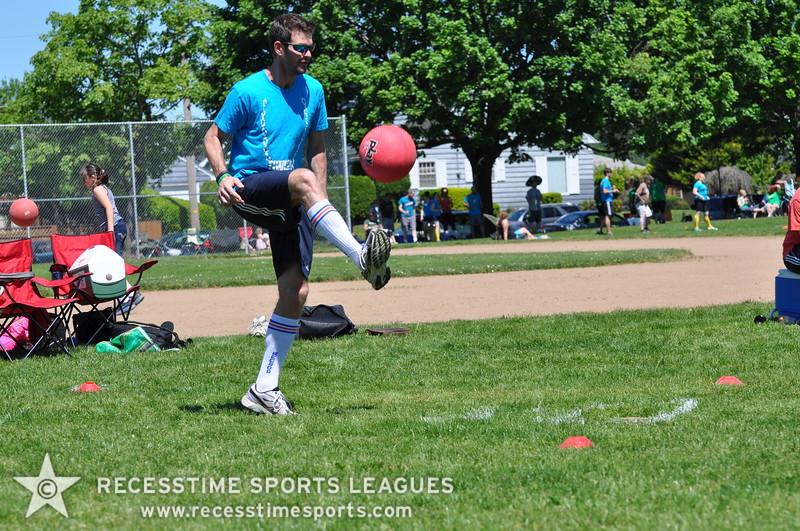 Recesstime Sports Leagues Portland Kickball Spring 2013 Dodgeball Bowling Ping Pong Mushball - 052
