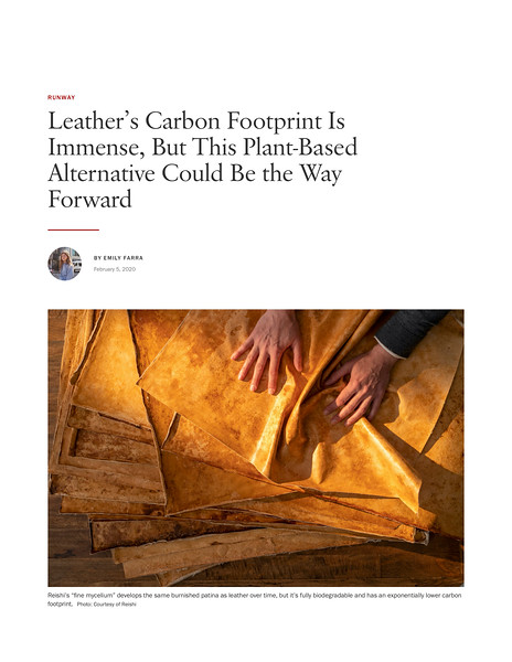 Leather's Carbon Footprint Is Immense, But This Plant-Based Alternative Could Be the Way Forward | Vogue.jpg