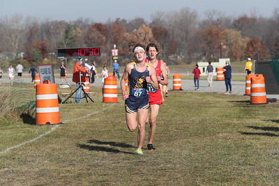 D3 Boys' at 2 Miles Section 2 - 2020 MHSAA LP XC