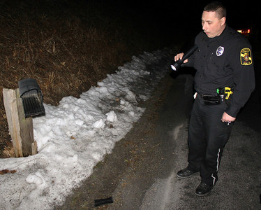 Mailbox Exploded by Vandals, 916 Dairy Road, South Tamaqua (2-27-2011)