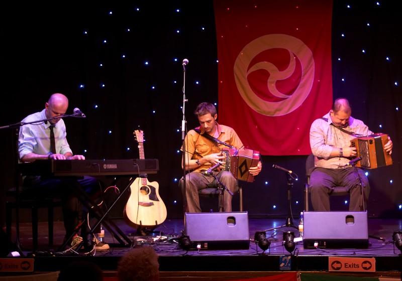 Liam, Seán Óg, and Damian - Beoga