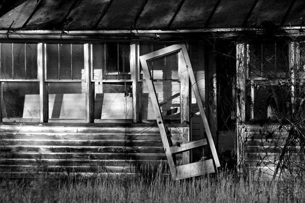 Abandoned home, Wisconsin Dells
