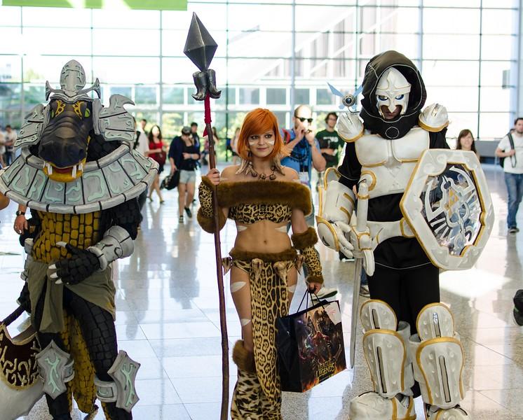 League of Legends cosplay @ Gamescom 2012