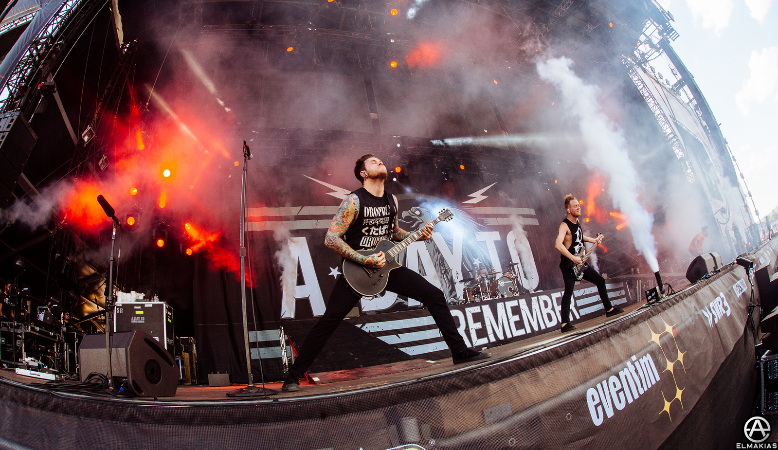 A Day To Remember live at Rock AM Ring - European Festivals