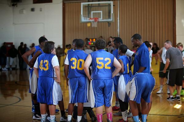 St. Leo's 8th Grade Boys Basketball Tournament at O'Dowd 2013