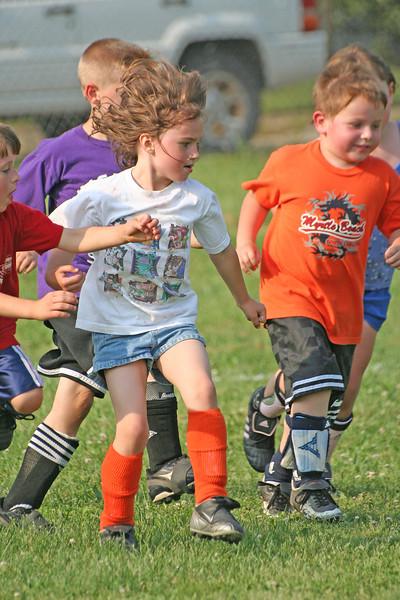 Riverside Soccer - Practice 5/14/07
