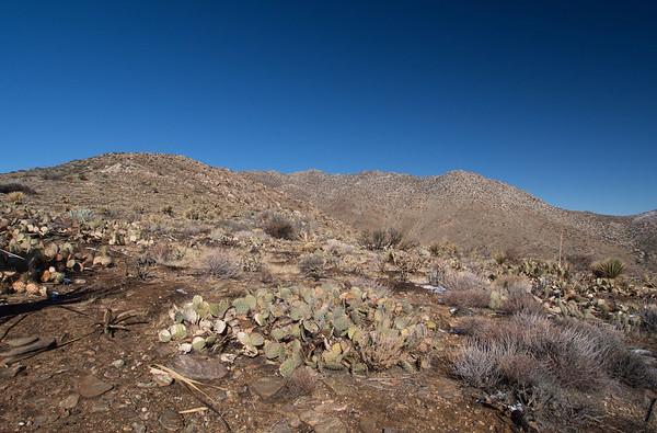 Granite Mountain - Anza-Borrego 12.31.12