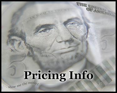 Portrait/Senior/Graduate & Event Pricing