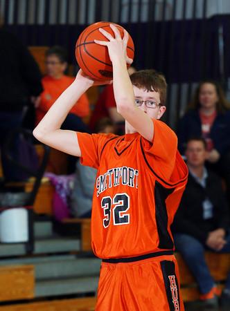 2016 Smethport Boys JV Basketball @ Coudersport