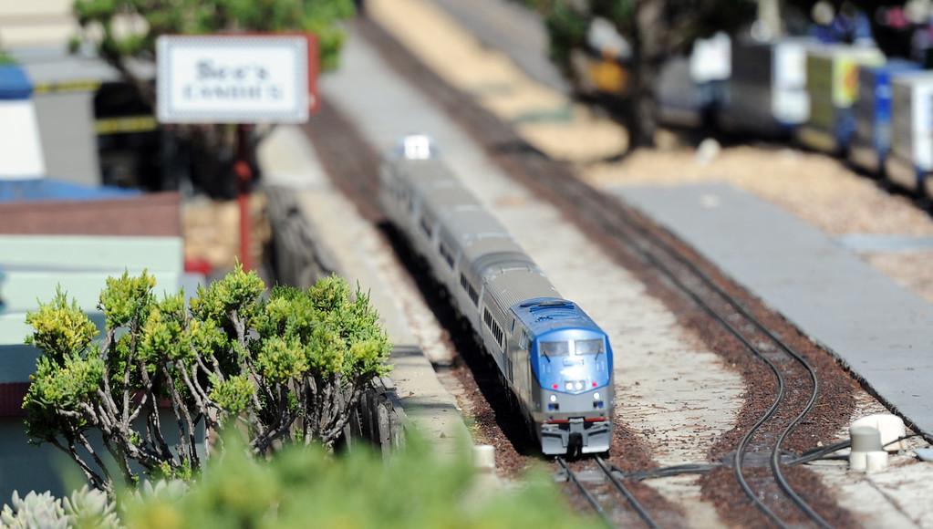 . Garden Railroad during the 91st Annual L.A. County Fair in Pomona, Calif. on Thursday, Sept. 5, 2013.   (Photo by Keith Birmingham/Pasadena Star-News)