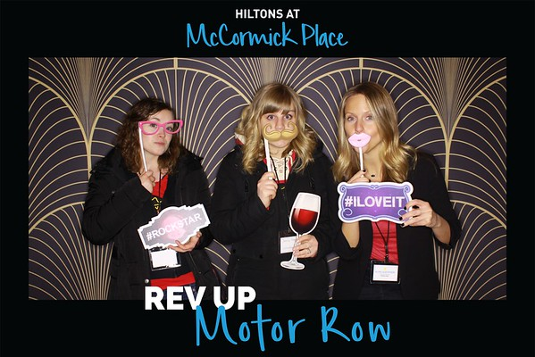 """Hiltons At McCormick Place """"Rev Up Motor Row 2018"""""""