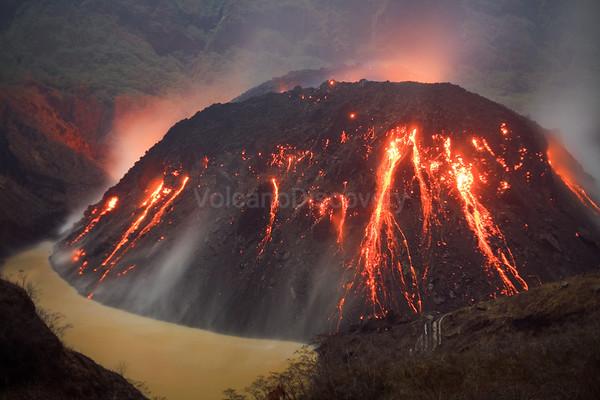 Kelut volcano, Indonesia