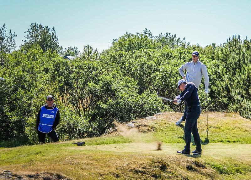 Björn Óskar Guðjónsson, GM. Jóhannes Guðmundsson, GR.   Mynd/seth@golf.is