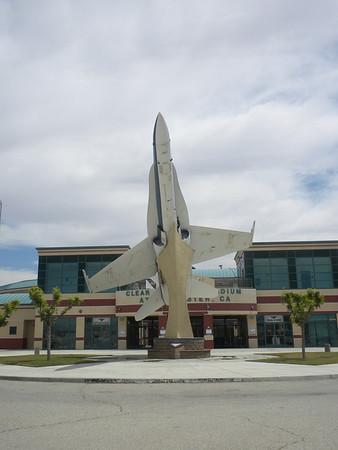 Lancaster NASA F-18