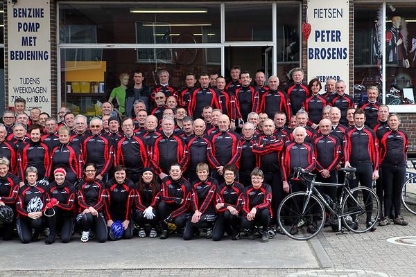 Groepsfoto's Rijkevorselse wielertoeristen (RWT)