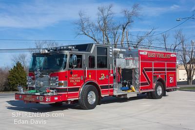 East Vineland Fire Co. (Atlantic County NJ) New Engine 12-21