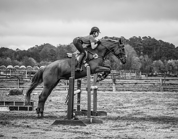 Aryonia and Reva jump clinic April