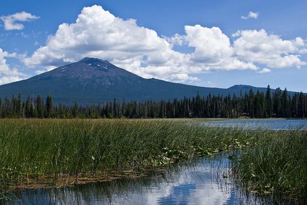 Canoeing Hosmer Lake